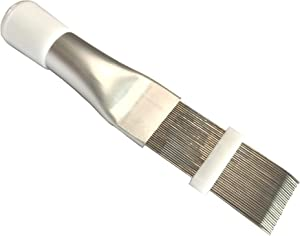 GooM Fin Comb Air Conditioner Fin Cleaner,AC Condenser Fin Straightener Cleaner Evaporator Radiator Fin Comb