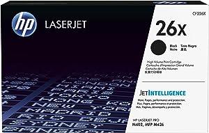 HP 26X | CF226X | Toner Cartridge | Black | High Yield
