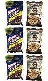 Coffee & Cookies Bundle: Capuccino Cookies & Brownie Crisps with Pecans