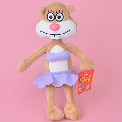25cm Sandy Squirrel Stuffed Plush Toy, Baby Dolls: Toys & Games