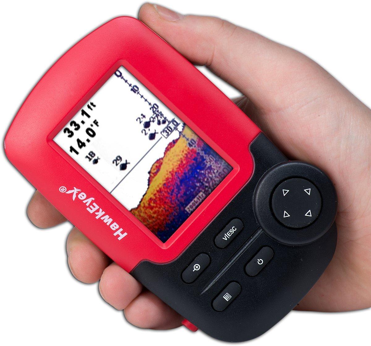 Amazon.com: HawkEye Fishtrax 1C Fish Finder with HD Color Virtuview ...