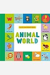 Animal World: 9 Mini Board Book Box Set (Clever Mini Board Books) Board book