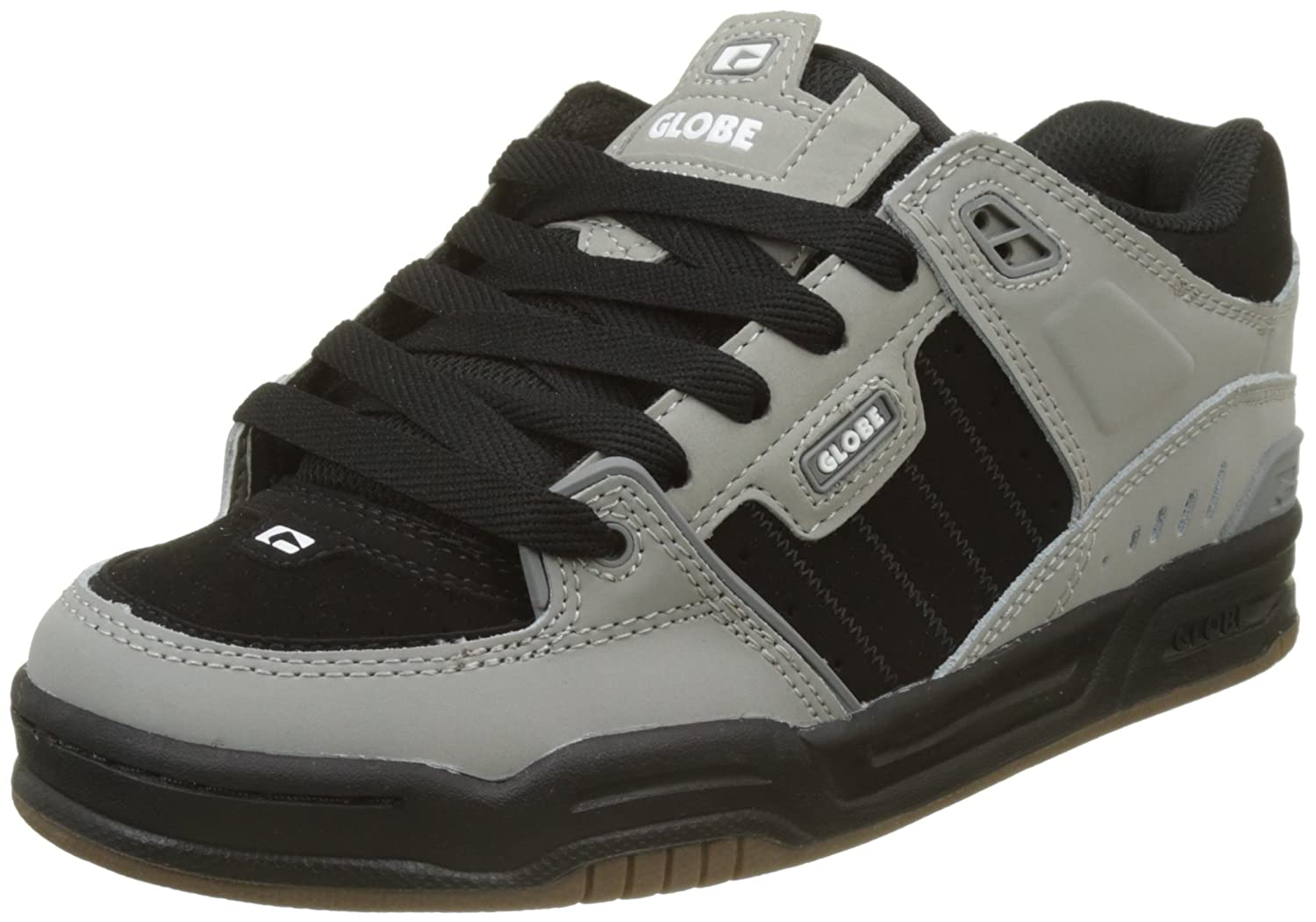 Globe pour homme Scribe Skateboarding Chaussures - - Gris/noir/blanc,