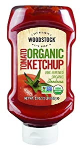 Woodstock Organic Tomato Ketchup, 32 Ounce (Pack of 12)