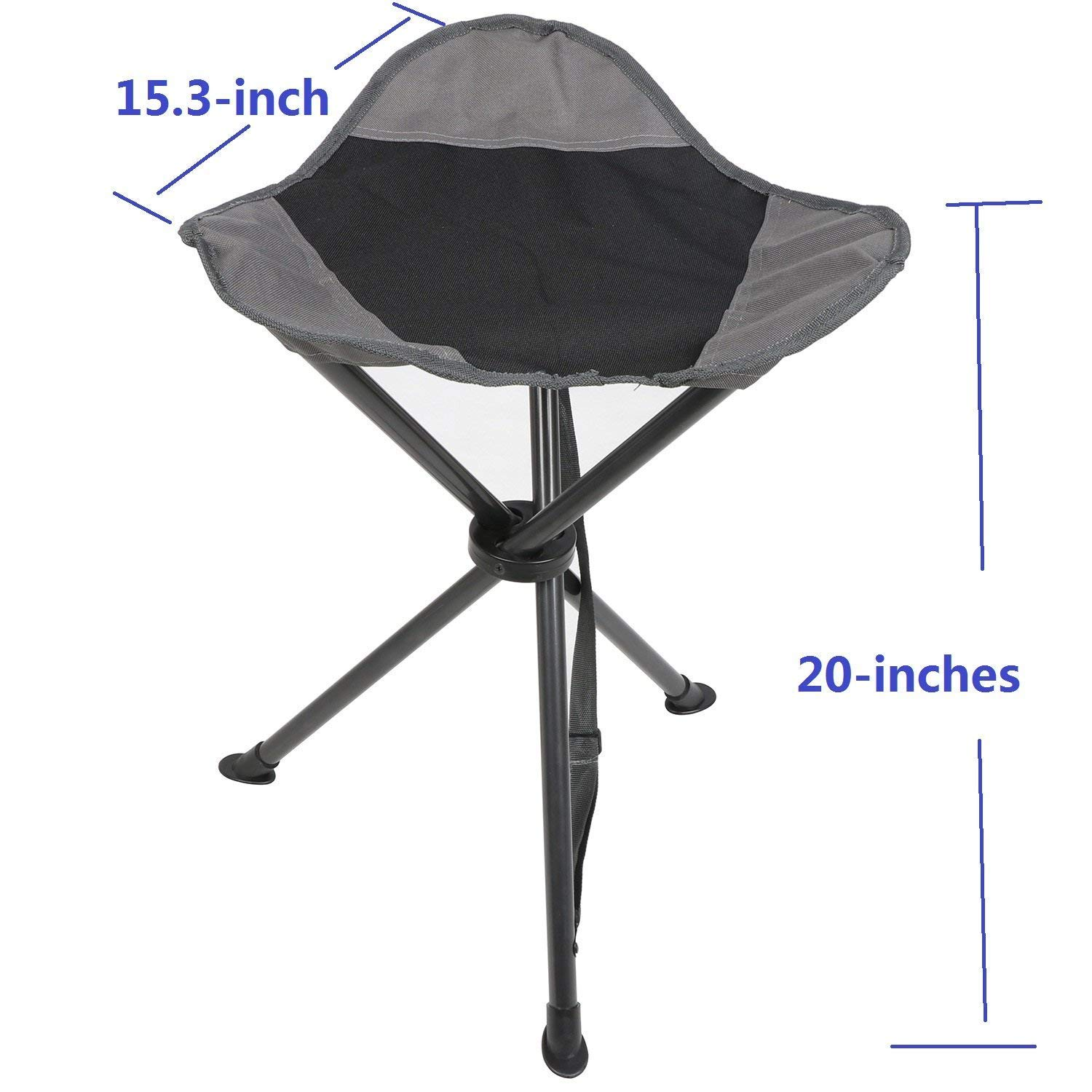 Amazing Portal Tall Slacker Chair Folding Tripod Stool For Outdoor Ocoug Best Dining Table And Chair Ideas Images Ocougorg