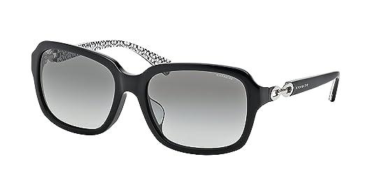 63910b5ed5b77 7fdb4 35f10  coupon code for coach hc8104f l545 ashley sunglasses 521411 black  black white sig c grey gradient