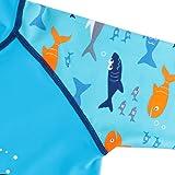 TFJH E Toddler Baby Boys Long Sleeve Swimsuit UV