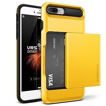 8a3009f373 iPhone8 Plus / iPhone7 Plus ケース カード 収納 耐衝撃 VRS DESIGN Damda Glide 米軍
