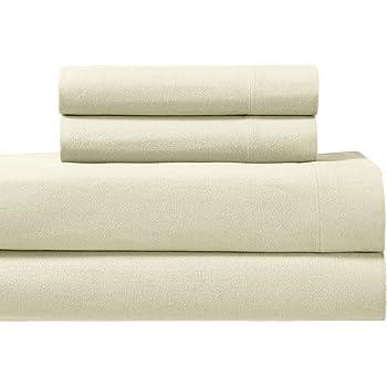 Royalu0027s Heavy Soft 100% Cotton Flannel Sheets, 4pc Bed Sheet Set, Deep  Pocket