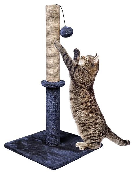 Dimaka - Poste rascador para Gatos de 29 Pulgadas de Alto, Base ...