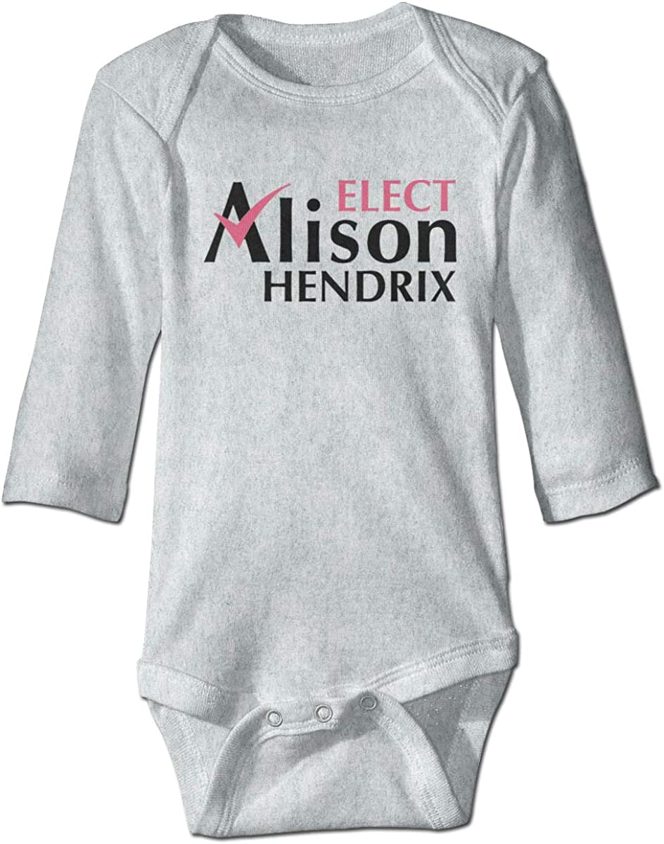 Smooffly Babys Girls Boys Orphan Black Elect Alison Hendrix Long-Sleeve Climbing Bodysuits Playsuits