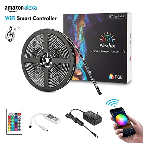flexible rgb led adhesive remote back pin light usb kit supernight tape strip cool