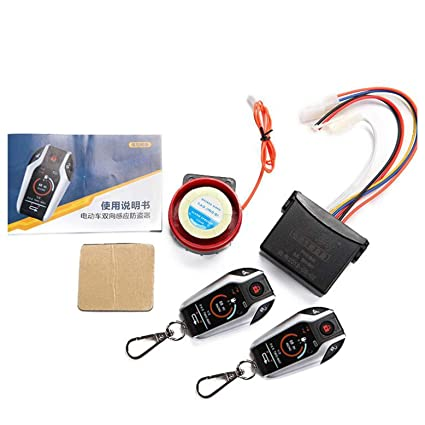 XULONG Scooter eléctrico Dispositivo antirrobo bidireccional ...