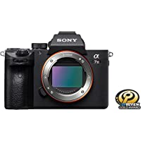 Sony Alpha a7 III 24.2MP 4K Ultra HD Mirrorless Digital Camera Body (Black)