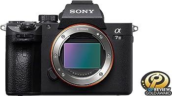 Sony Alpha a7 III 24.2MP 4K UHD Mirrorless Digital Camera Body