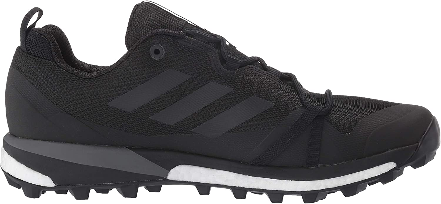 adidas Outdoor Mens F36117-10.5 Terrex Skychaser Lt Black/Black/Grey Four