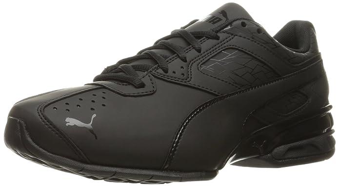 puma mens tazon 6 fracture fm cross-trainer shoe, puma black