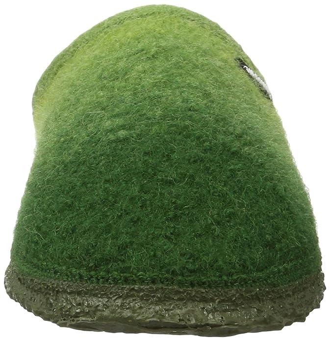 Giesswein Notzen, Chaussons Mules Femme, Vert (Avocado), 39 EU