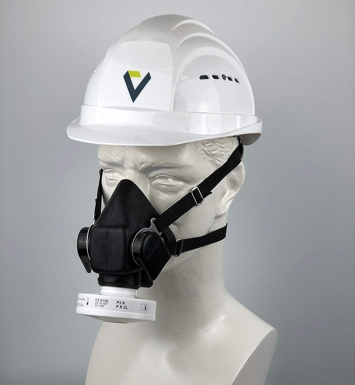 D/ämpfe Dr/äger Zivilschutz-Filter der Schutzklasse A2B2E2K2-P3 R D//NBC Partikel f/ür Gase 1 STK   Kombinations-Filter f/ür Vollmaske CDR 4500 Schwarz