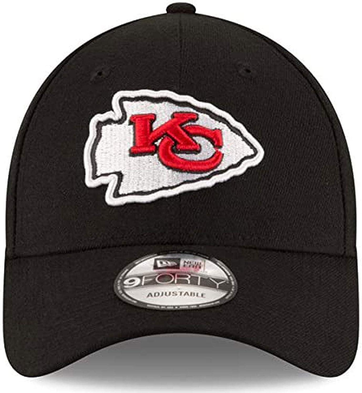 Kansas City Chiefs New Era The League 9FORTY Adjustable Hat Black