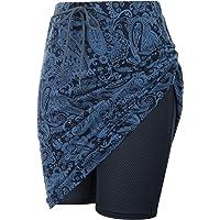 JACK SMITH Women's Athletic Skorts Skirts Sports Golf Tennis Skirts with Pockets S-3XL
