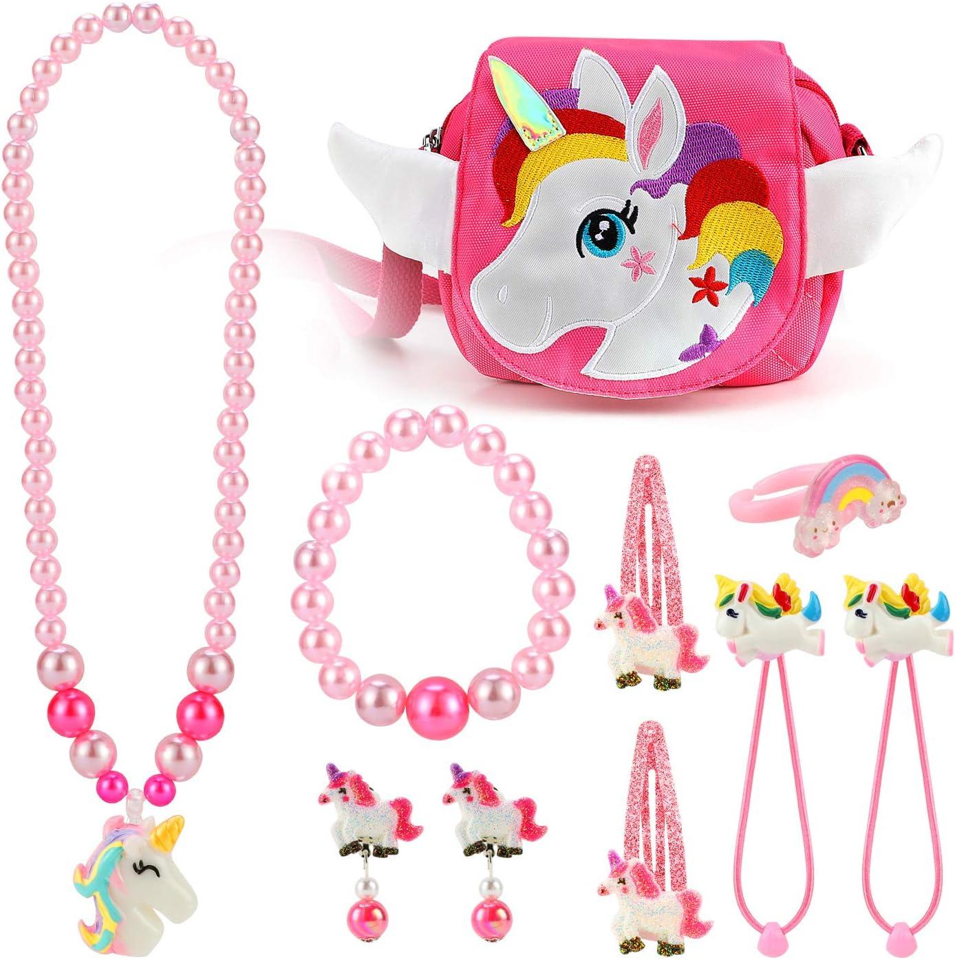 Chunky ballet necklace bracelet earrings jewelry set
