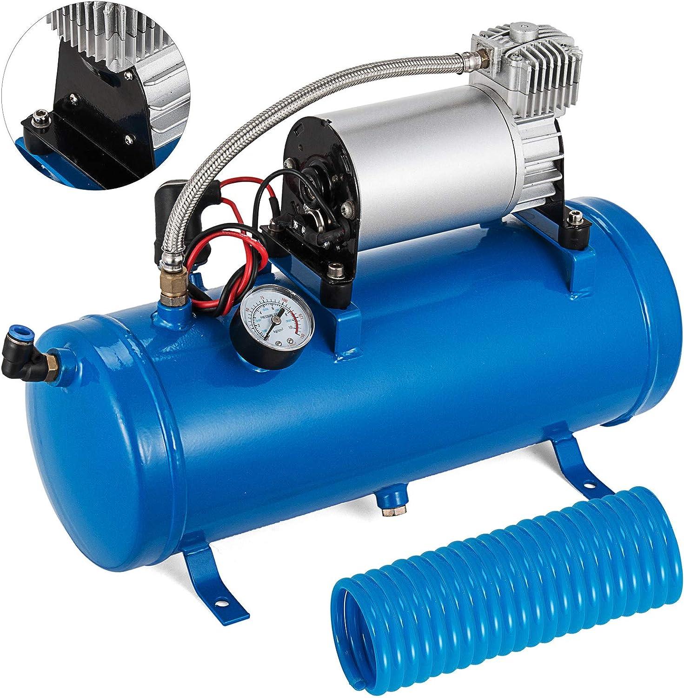 PGDD Compressore daria a Tromba daria Compressa 12V 150 PSI Tromba Camion Tromba daria Camion Compressore daria a Tromba daria Doppia Tromba con Compressore Clacson