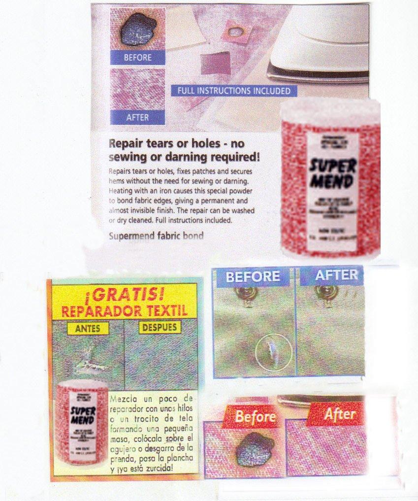 Fabric bonding powder by Supermend fabric bonding powder (Image #2)