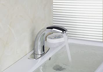 Superbe Touch Auto Sensor Faucet Bathroom Basin Automatic Free  Hands Tap Mixer  D49520