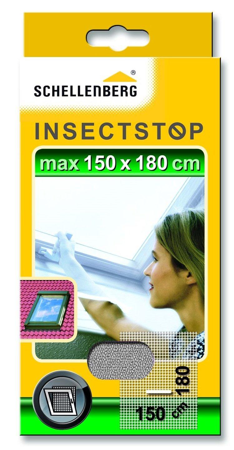 Schellenberg 50328 - Mosquitera para claraboyas, protecció n anti insectos y moscas (150 x 180 cm) color blanco protección anti insectos y moscas (150 x 180 cm) color blanco