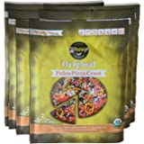 Paleo Pizza Crust | 6 Pack Original Flavored Organic Gluten Free, Dairy Free, Soy Free, Nut Free and Vegan Pizza Crust
