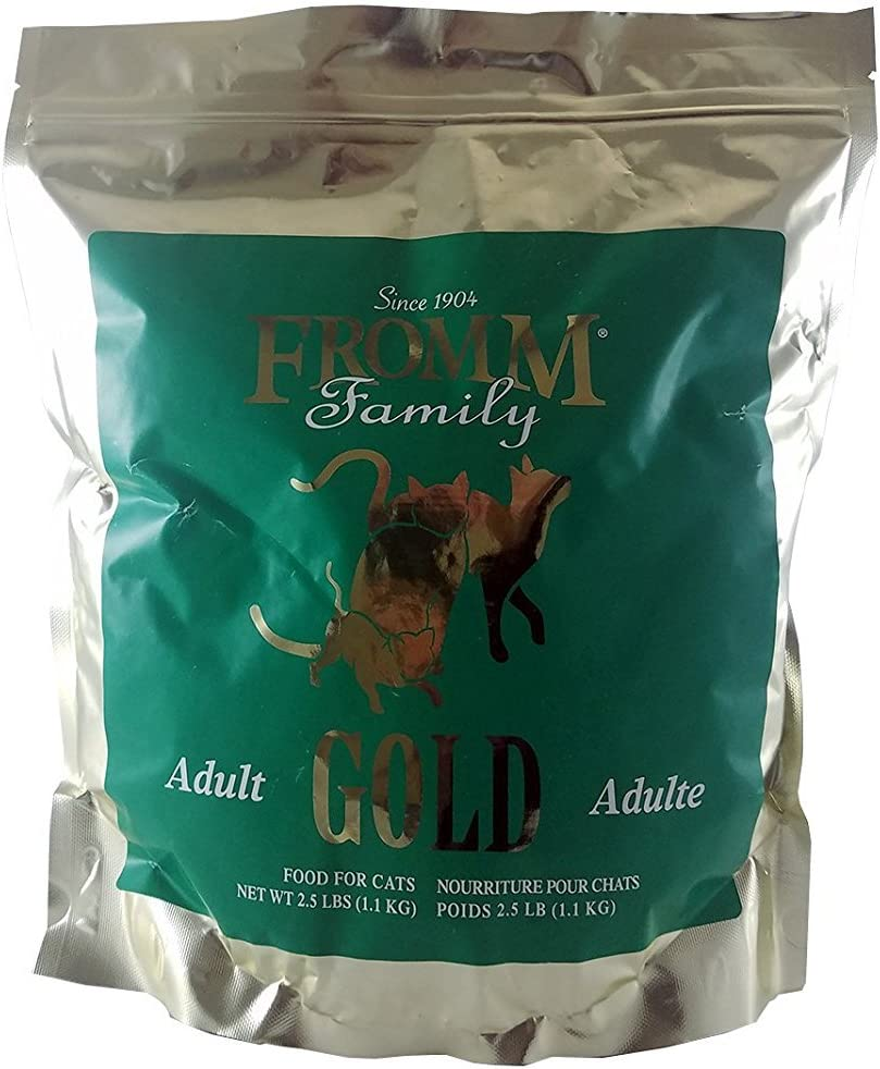 Fromm Gold Holistic Adult Dry Cat Food 2.5 pounds
