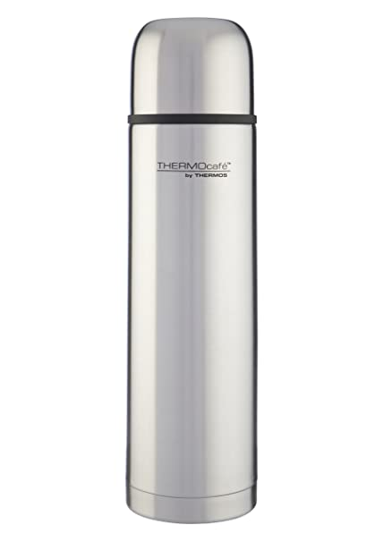 Thermos ThermoCafé Stainless Steel Flask, 1 Litre