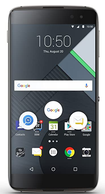 BlackBerry DTEK 60 (Black, 32GB) Smartphones at amazon