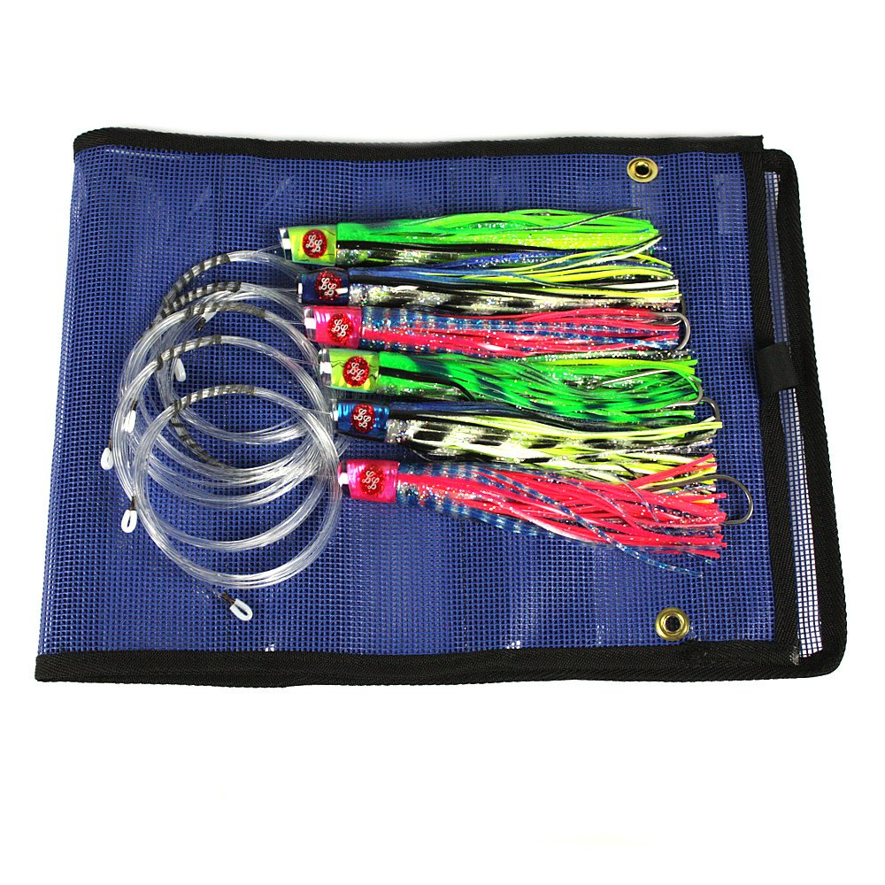 Mahi Mahi Lure 6 Pack by Laceration Lures by Laceration Lures