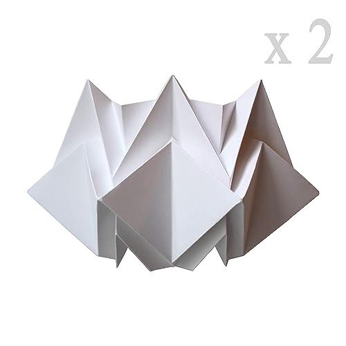 De Origami Applique Murale Papier Design En Ensemble Deux erdCWxBo
