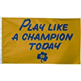 """NCAA Notre Dame """"Play Like A Champion Today"""" 3-by-5 foot Flag"""