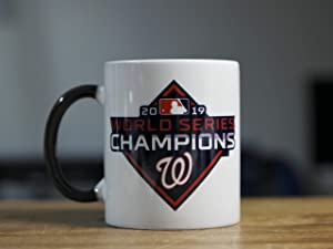 World Series Champion WASHINGTON NATIONALS Color Changing 11oz. Magic Mug