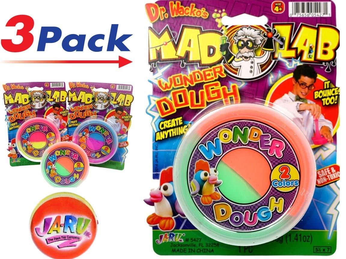 JA-RU Mad Lab ワンダーダフ バウンスカラフル スーパーメガソフトアイテム #5427 Pack of 3 5427 B07F2P5P1Z  Pack of 3