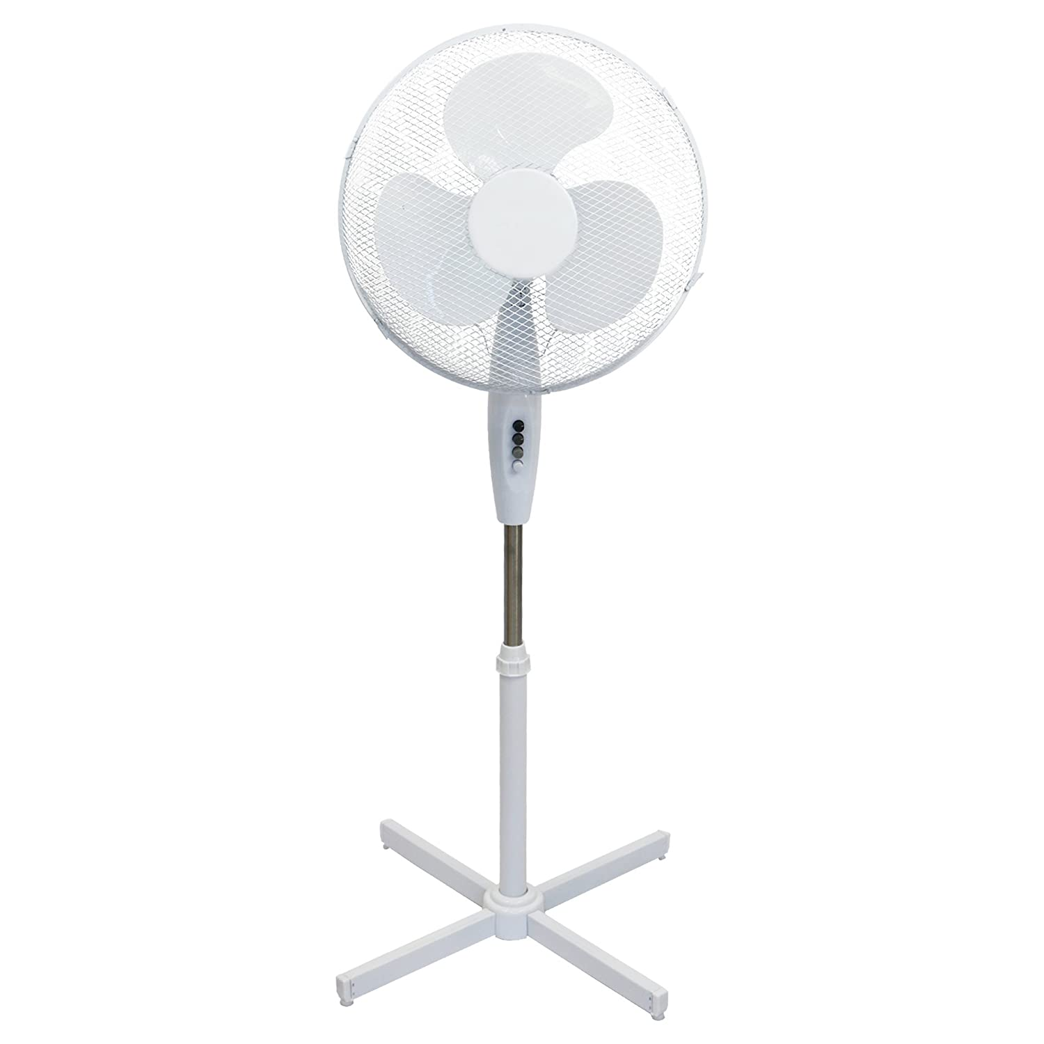 Oypla Electrical 16 Oscillating Pedestal Electric Cooling Fan G16PF