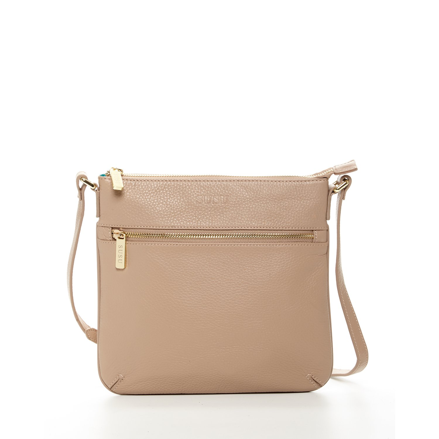 a8fa5c92ff Tan Crossbody Bags For Women Beige Leather Cross over Purse Small Purses and  Handbags Cross body Flat Messenger Bag Nude Lightweight Cute Hand bags Long  ...