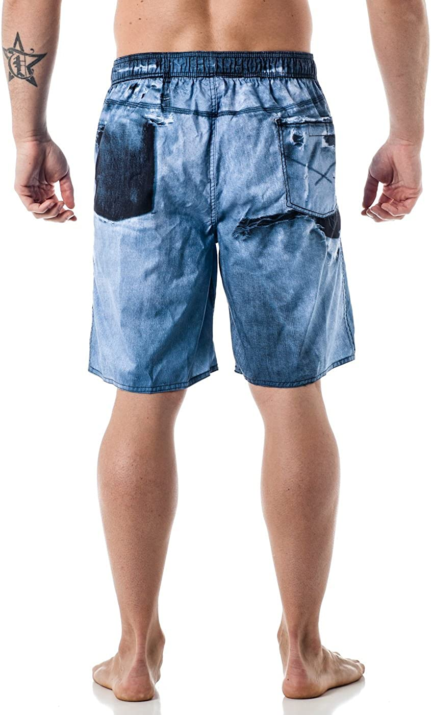 AP.Room Italian Flag Mens Popular Beach Board Shorts Elastic Drawstring Quick Dry Swim Trunks With Pockets