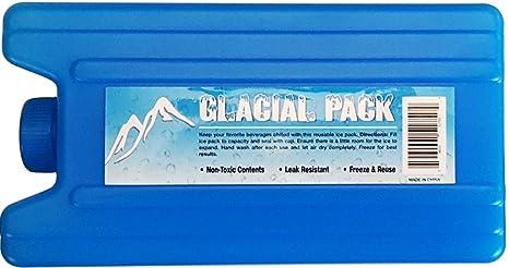 Amazon.com: ICE pack Secret Flask 14 oz Azul – 1 Pack – Keep ...