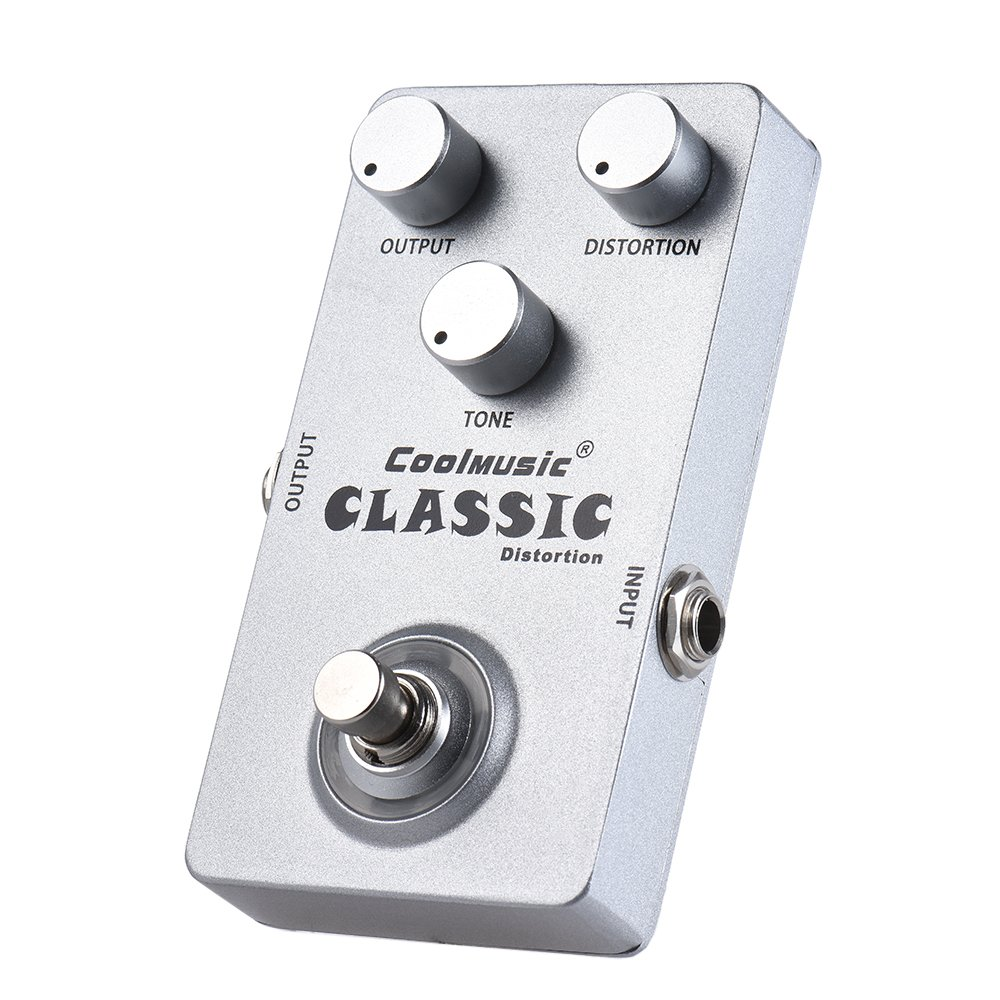 Coolmusic Guitar Effects Pedal Silver2 Musical Foot For Wiring Diagram Instruments