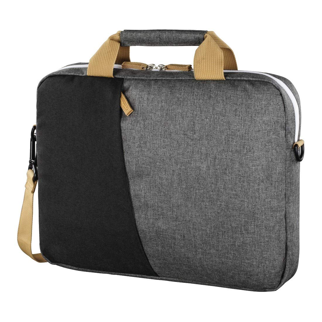 Hama'' Florence'' Notebook Bag up to 34 cm (13.3'') Black/Grey by Hama