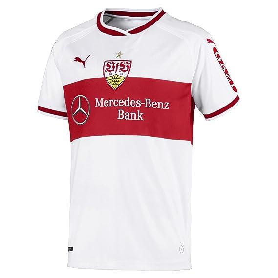 uk availability a6d1e 1e561 Puma Kinder VfB Stuttgart Home Replica Shirt Jr W.Sponsor Trikot