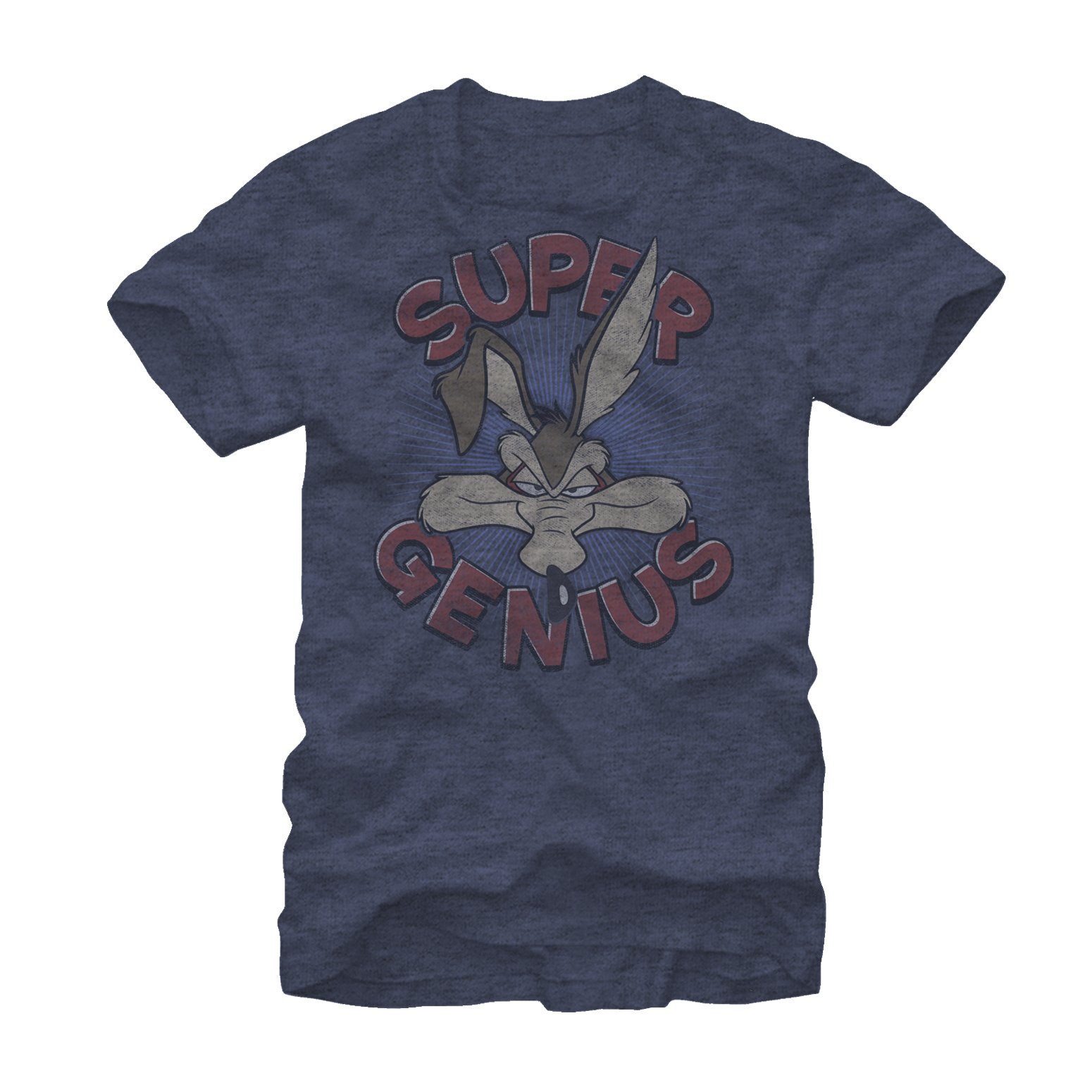 Looney Tunes Wile E Coyote Super Genius S Graphic T Shirt