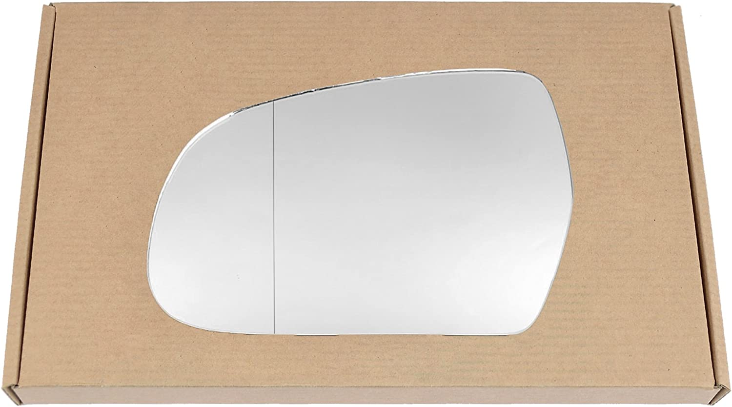 Wide angle Left passegner side Silver Wing mirror glass # AuA5//a02-2015729//590