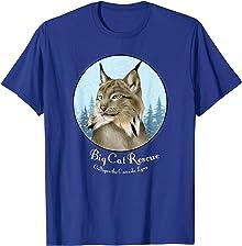 Gilligan the Canada Lynx Big Cat Rescue Tee Shirt