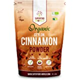 Organic True Ceylon Cinnamon Powder | Premium Ceylon Superfood Packed with Powerful Antioxidants | Anti-Inflammatory & Supports Healthy Blood Sugar | Ideal for Cooking, Tea & Treats 300g